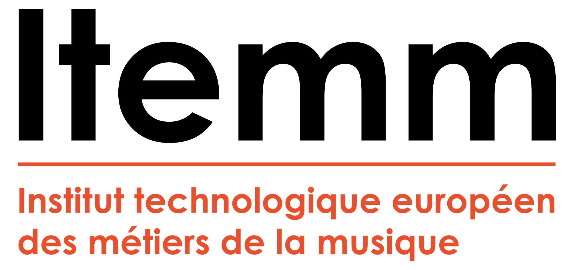 Logotype de Institut technologique européen des métiers de la musique (Itemm)